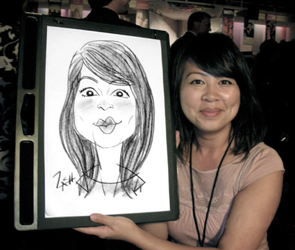 Caricature Asian